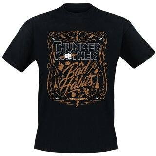 T-Shirt Thundermother - Bad Habits 5XL