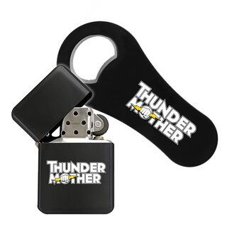 Bundle - bottle-opener + petrol-lighter Thundermother