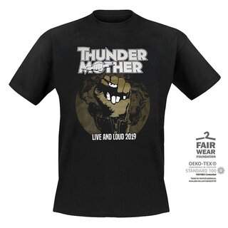 T-Shirt Thundermother Live and Loud